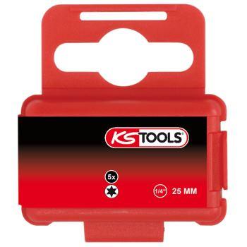 """1/4"""" Bit TX, 25mm, T4, 5er Pack 911.3358"""