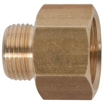 Messing-Reduziernippel, 24x17mm 515.3385