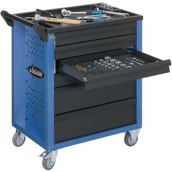 Werkzeugwagen-Vigor600-blau