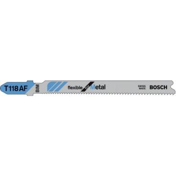 Stichsägeblatt T 118 AF, Flexible for Metal, 25er-