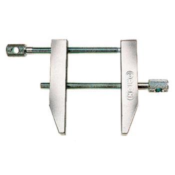 Parallel-Schraubzwinge 28 x 50 mm glanzverzinkt