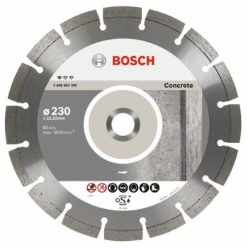 Diamanttrennscheibe Standard for Concrete, 125 x 2