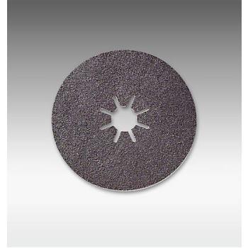 Scheibe Sternloch B, Durchmesser 115 mm, P80 Ser4700