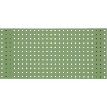 Lochplatte-resedagrün, 2000x450mm