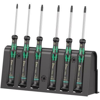 2067/6 Elektroniker TORX® BO-Schraubendrehersatz + Rack