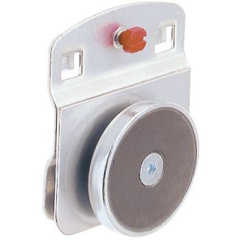 RasterPlan Magnethalter Durchmesser 40 mm, alufarb