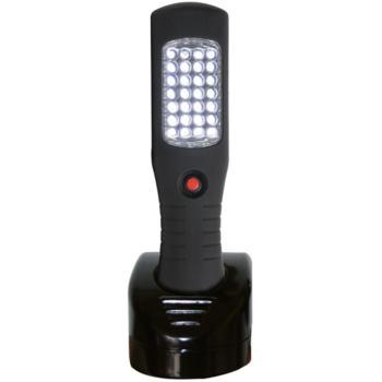 LED Akku-Werkstattleuchte mit 28 LED, Haltemagnet