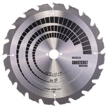 Kreissägeblatt Construct Wood, 315 x 30 x 3,2 mm,