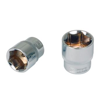 """3/8"""" CHROMEplus® Sechskant-Stecknuss, 9mm 918.3809"""
