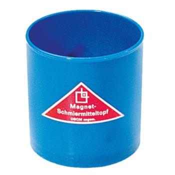 Magnet-Schmiermitteltopf 80 xm 80 mm aus Kunststof
