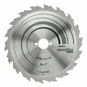 Kreissägeblatt Speedline Wood, 184 x 30 x 2,4 mm,