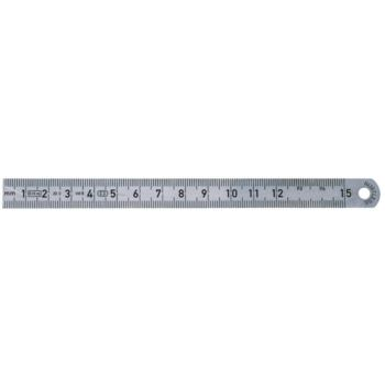 Maßstab aus Federbandstahl 1000 mm mit 1/2mm-Teil