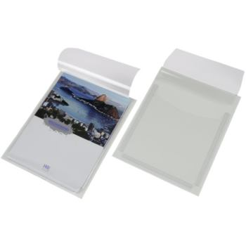 Dehnfaltentasche selbstklebend DIN A5 Maße 165 x 2