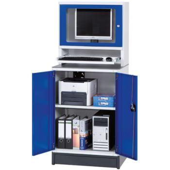 Modul PC-Schrank fahrbar HxBxT 1726x722x553 mm