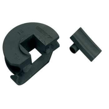 Stahl-Biegeform mit Gleitschiene 28 mm