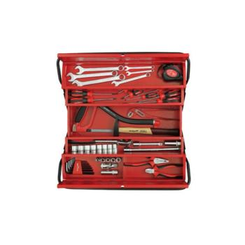 Werkzeugkiste + Universalsatz SCHRAUBER, 57-tlg
