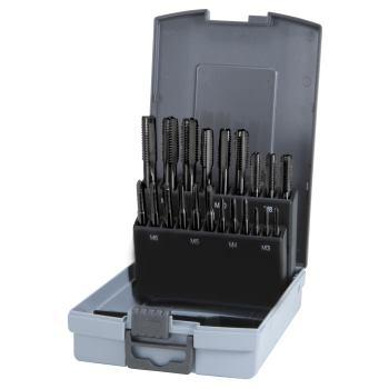 Handgewindebohrer Kassetten Kunststoff,Set HSSE-Co