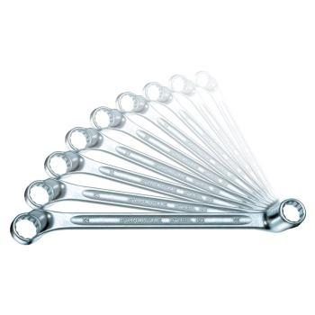 Doppelringschlüssel 12-teilig 6 x 7 - 30 x 32 mm