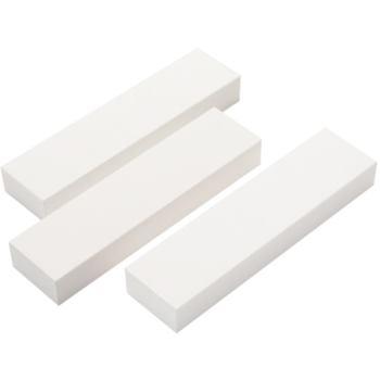 Abrichtstein 25x13x100 mm Edelkorund weiß 180 ung