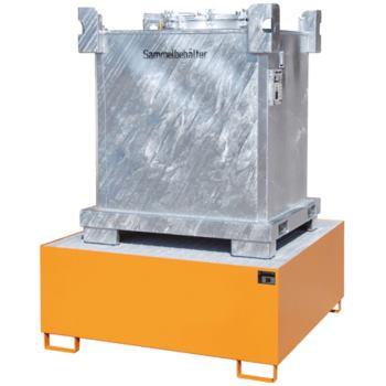 Stahl-Auffangwanne für 1x IBC LxBxH 1460x1460x620