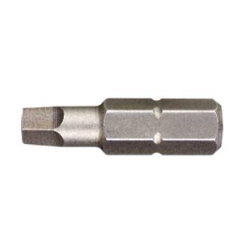 Innen-Vierkantbits 25mm Länge / Größe 2 DT7171