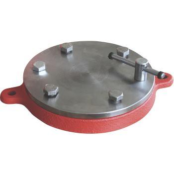 Rundteller zu Schraubstock, 150 mm