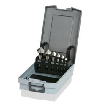 HSS-Kegel- und Entgratsenker-Kassette DIN 335 C
