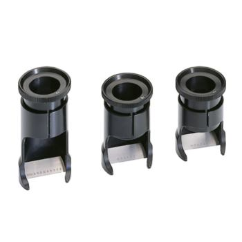 Messlupe Vergrößerung 12-fach MB 6 mm/0,05 Teilun
