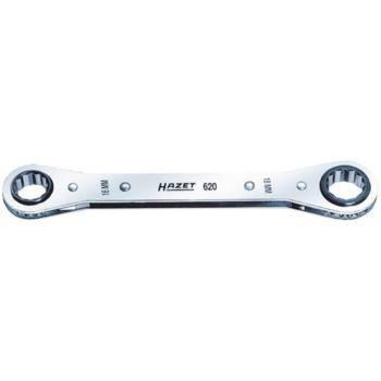 Knarrenringschlüssel 14x15 mm flache Ausführung
