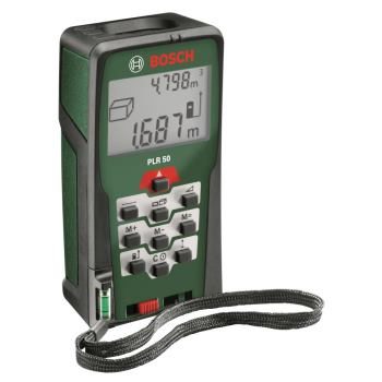 Digitaler Laser-Entfernungsmesser PLR 50