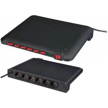 Power Manager PMA 19.500A Überspannungsschutz 6-fach 2m H05VV-F 3G1,5