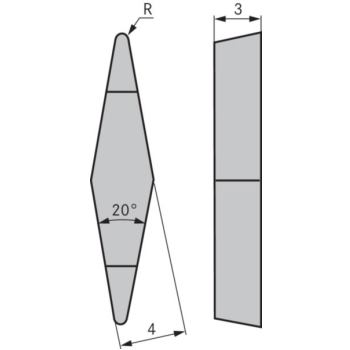 Kopierdrehplatte XBGR 100302 SPN OHC7620