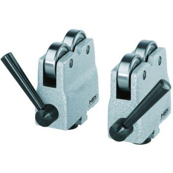 PREISSER Abrollböcke Auflagedurchmesser 40 mm T-Nu