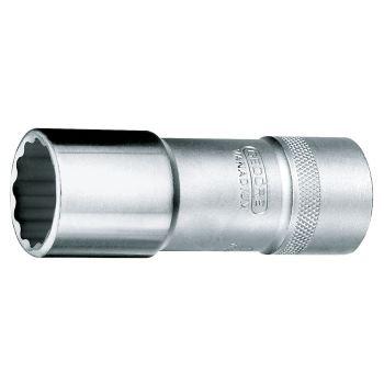 Steckschlüsseleinsatz 17mm 1/2 Inch DIN 3124 lang