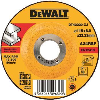 Metall-Schruppscheibe - gekröpft DT42220