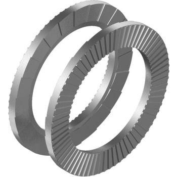 Keil-Sicherungsscheiben DIN 25201 - Edelstahl A4 für M 6