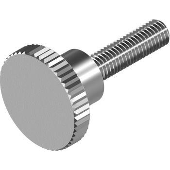 Hohe Rändelschrauben DIN 464 - Edelstahl A1 M 3x20