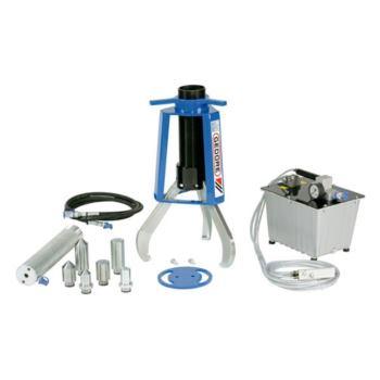 Hydr.-Abzieher 3-armig, 22 t, inkl. Zylinder und P umpe