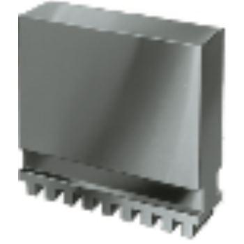 Blockbacke BL in Sonderhöhe, Größe 350+400, 4-Backensatz, ungehärtet, 16MnCr5