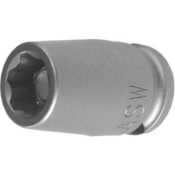 Kraft-Steckschlüssel Surface Drive mit Magneten 1/