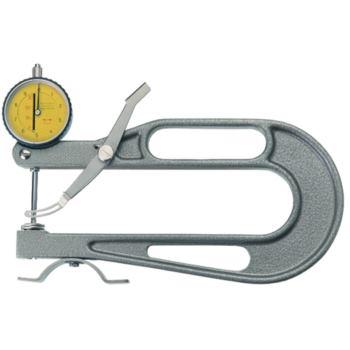 Dickenmessgerät T-Form A Anzeigebereich 30 mm Büge