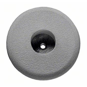 Filzpolierscheibe mit Gewinde M 14, 180 mm