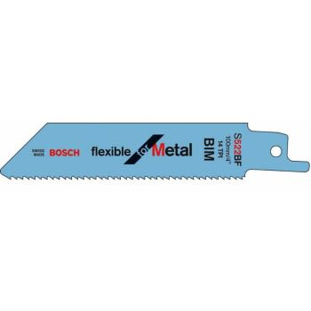 Säbelsägeblatt S 522 BF, Flexible for Metal, 2er-P