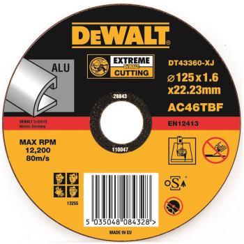 EXTREME Aluminium Trennscheibe - flach DT43360