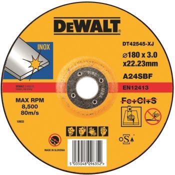 Standard Edelstahl-Trennscheibe - gekrö DT42545