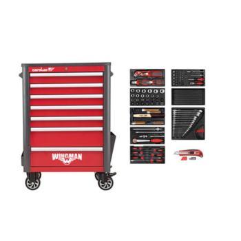 Werkstattwagen WINGMAN + 2250.3802 Werkzeugsatz 13 2-tlg