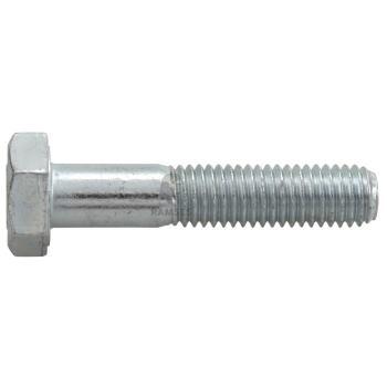 Sechskantschrauben DIN 931 Güte 8.8 Stahl verzinkt M 6x 80 100 St.