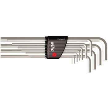 Sechskantschraubendreher 11-tlg. 1,5-10 mm, lang im Compact-Halter