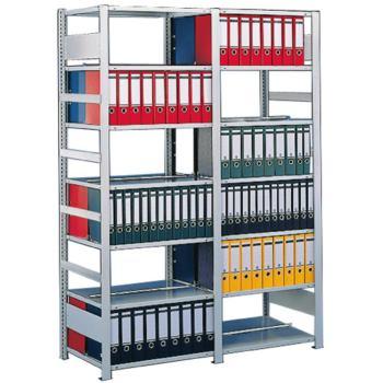S3 Bürosteckregal verzinkt mit 5 Böden Grundr