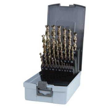Spiralbohrer DIN 338 TL3000, HSSE-Co 5,Set 25 pcs.